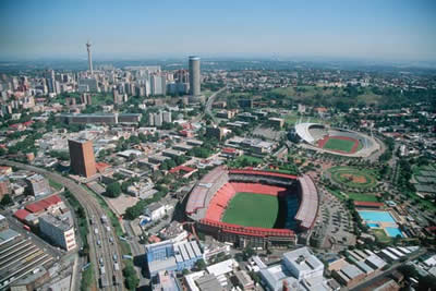 Johannesburg of the city