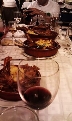 Food in asturias