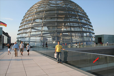 the Reichstag Foster