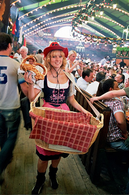 Travel experience at Oktoberfest