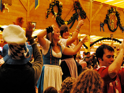Visual guide to getting lost in the Oktoberfest