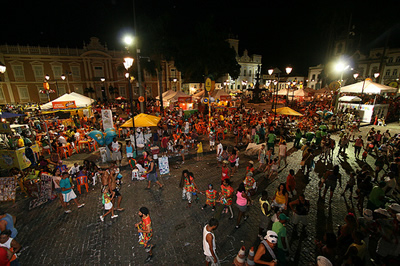 Popular festivities in Salvador da Bahia - Brasil