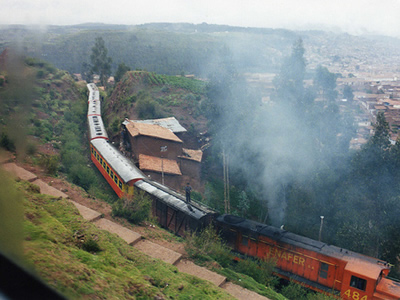 Railway of Peru
