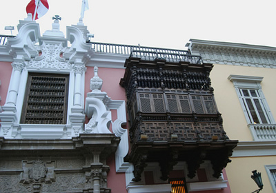 The City of Balconies of Lima