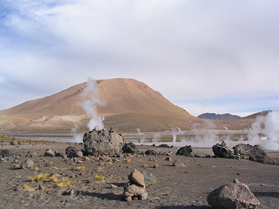the Atacama Desert - Chile