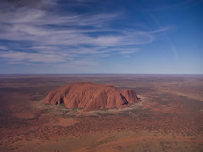 Australia The sacred Ayers Rock